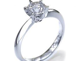 6 Prong Classico Diamond Engagement Ring