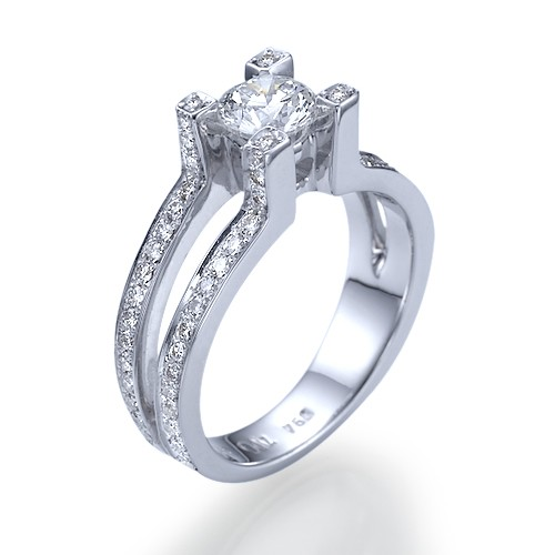 Utopian Dream Diamond Engagement Ring