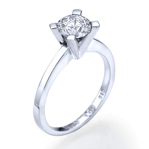 Vis a vis Diamond Engagement Ring