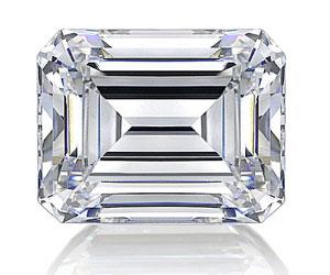 Emerald Cut Diamond Shape
