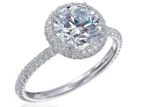 Rose Cut Diamond Ring