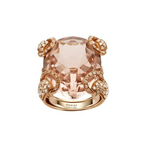 Dior Diamond Morganite Cocktail Ring