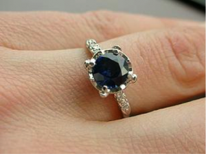 Non-Diamond Engagement Rings