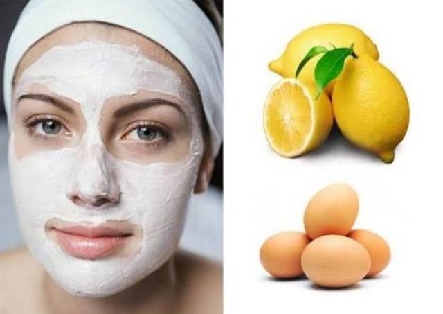 Egg + Lemon Homemade Acne Treatment