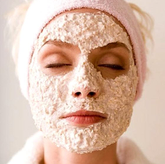Oatmeal Mask Homemade Acne Treatment