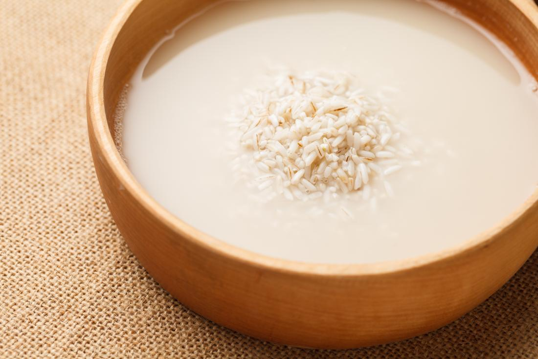 Rice Water Homemade Acne Treatment