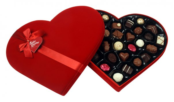 Heart-shaped Chocolates Box
