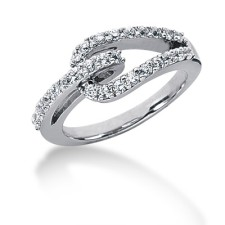 Interlinking Diamond Ring