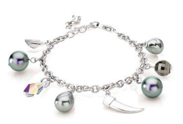Building Charm Silver Bracelets
