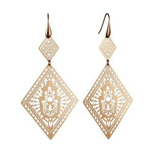 Silver Dangle Fashion Earrings