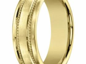 Men's 18K Yellow Gold Wedding Ring