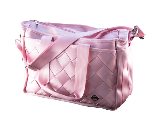 Bags Made From Seat Belts