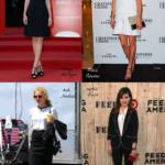 Monochrome Celebrity Outfits