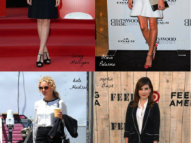 Monochrome Celebrity Outfits