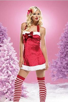Velvet christmas dress