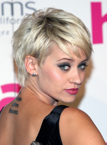 Kimberly Wyatt Pixie Cut