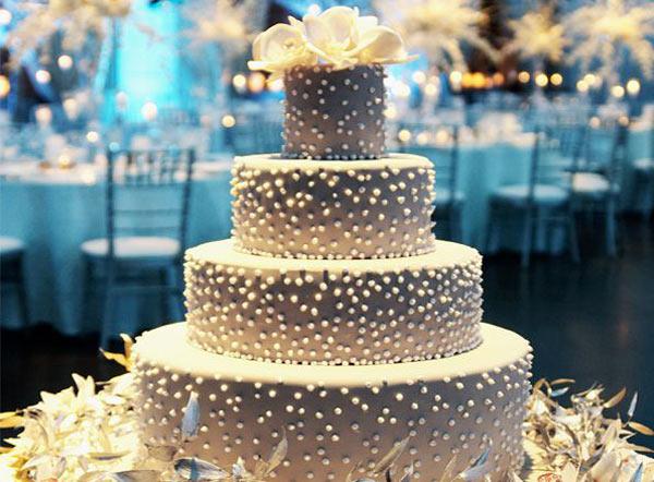 Wedding Cake at Home