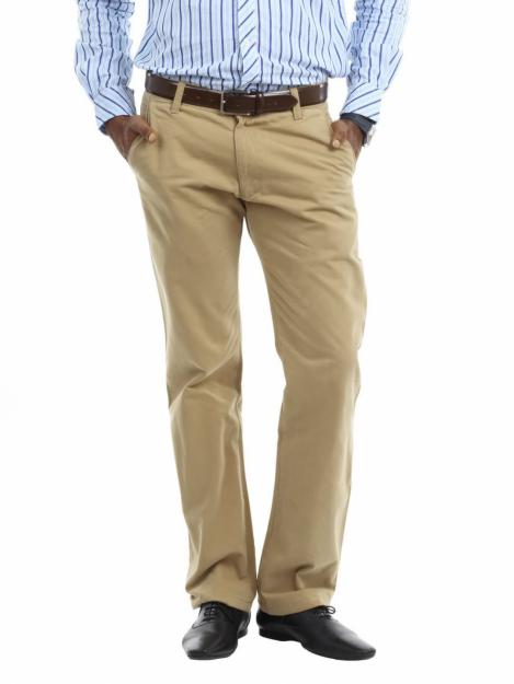 Khaki Chinos for Men