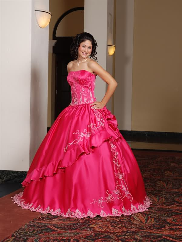 Quinceanera Gown Pink