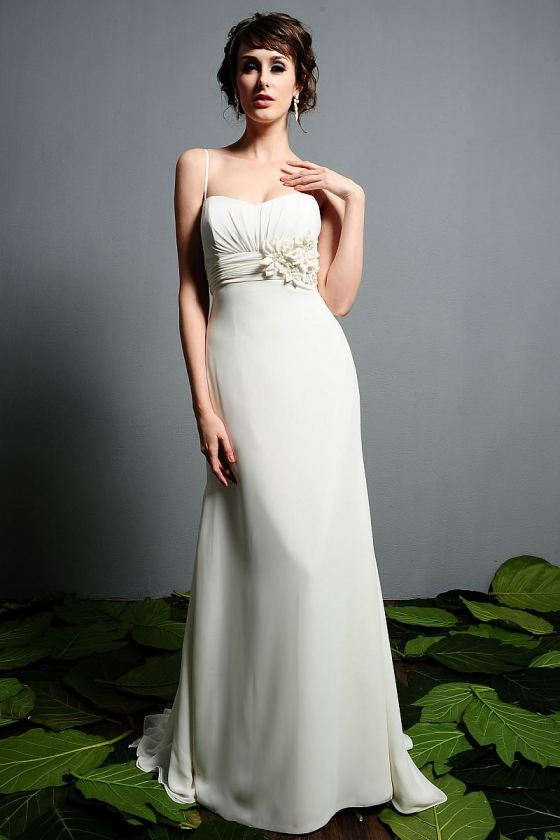 Rectangle shape wedding dresses