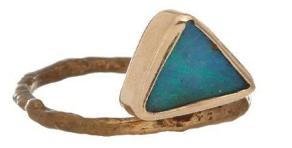 Sea-inspired Rings