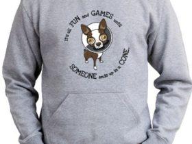 Fun and games tee shirt
