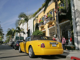Rodeo Drive - Beverly Hills (California USA)