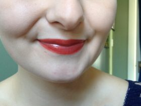 Lips with Mineral Makeup
