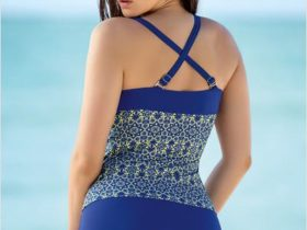 Slimming Coverage Tankini & Swim Short