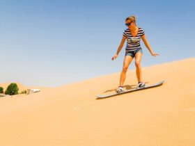 Fun Sand boarding min
