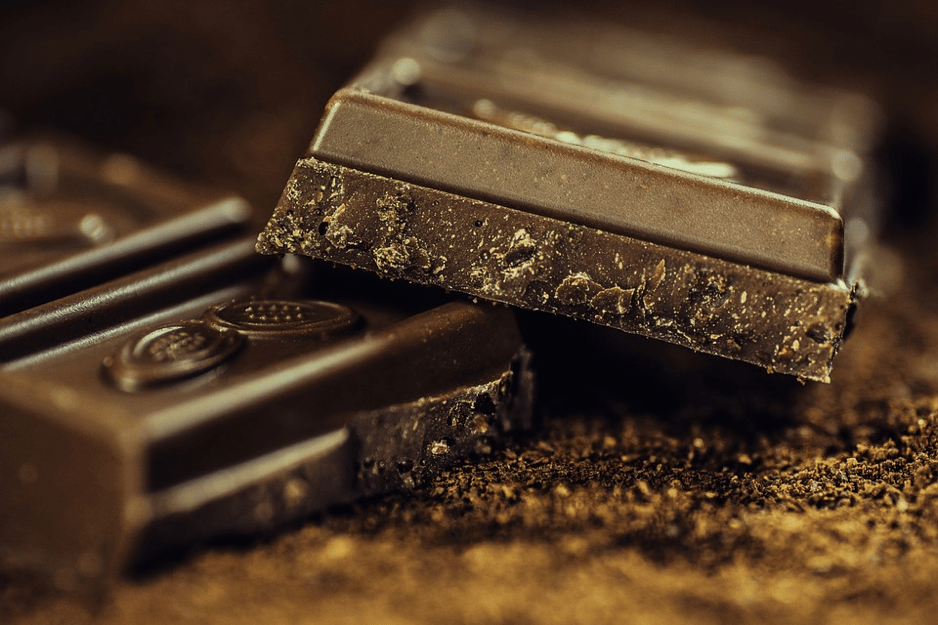 chocolate for skin issue