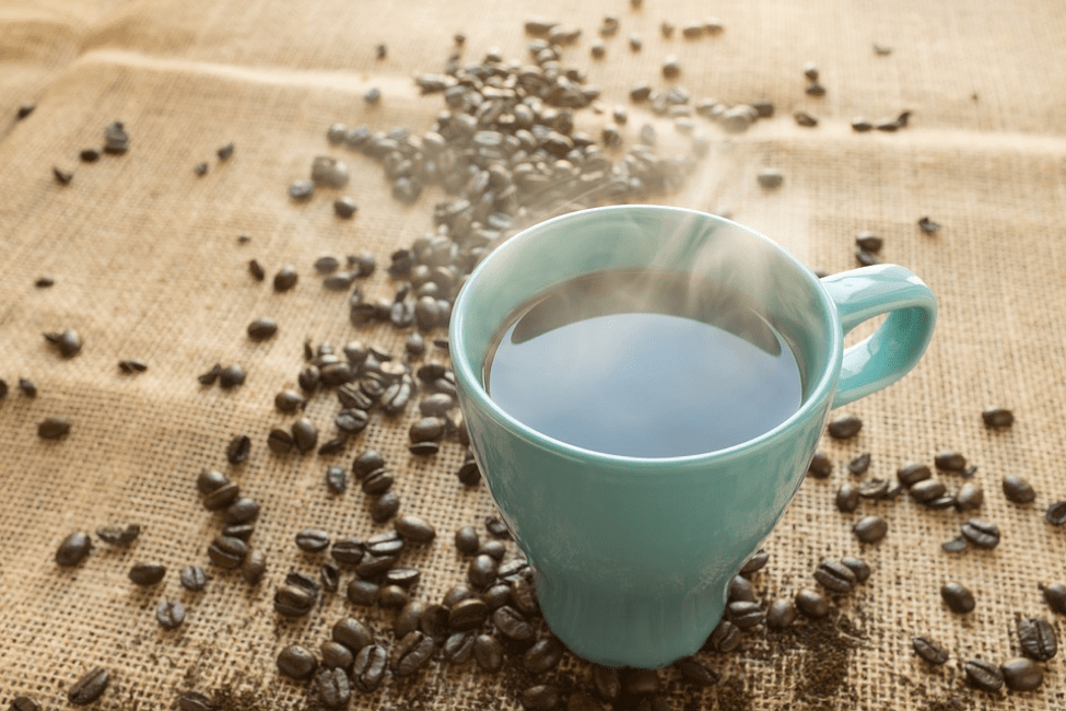 coffee for skin issue