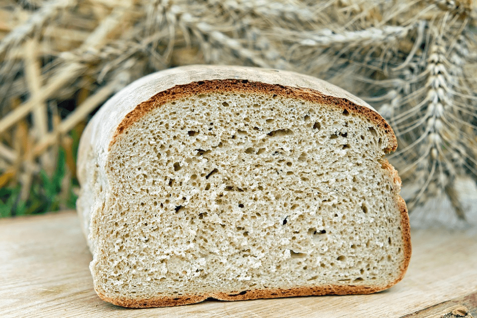 white bread for skin issue