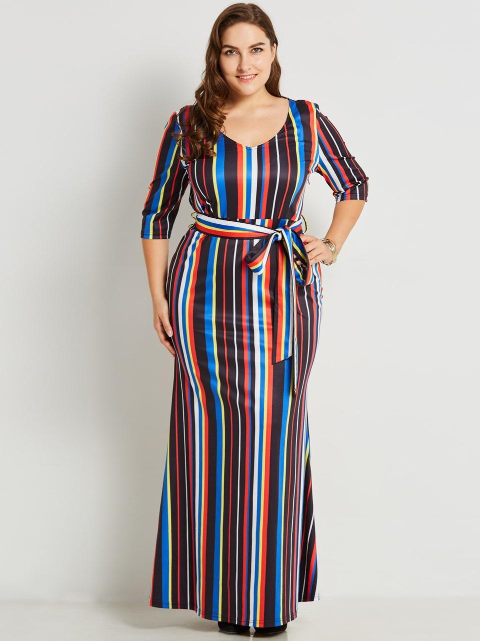 Maxi dresses plus size min