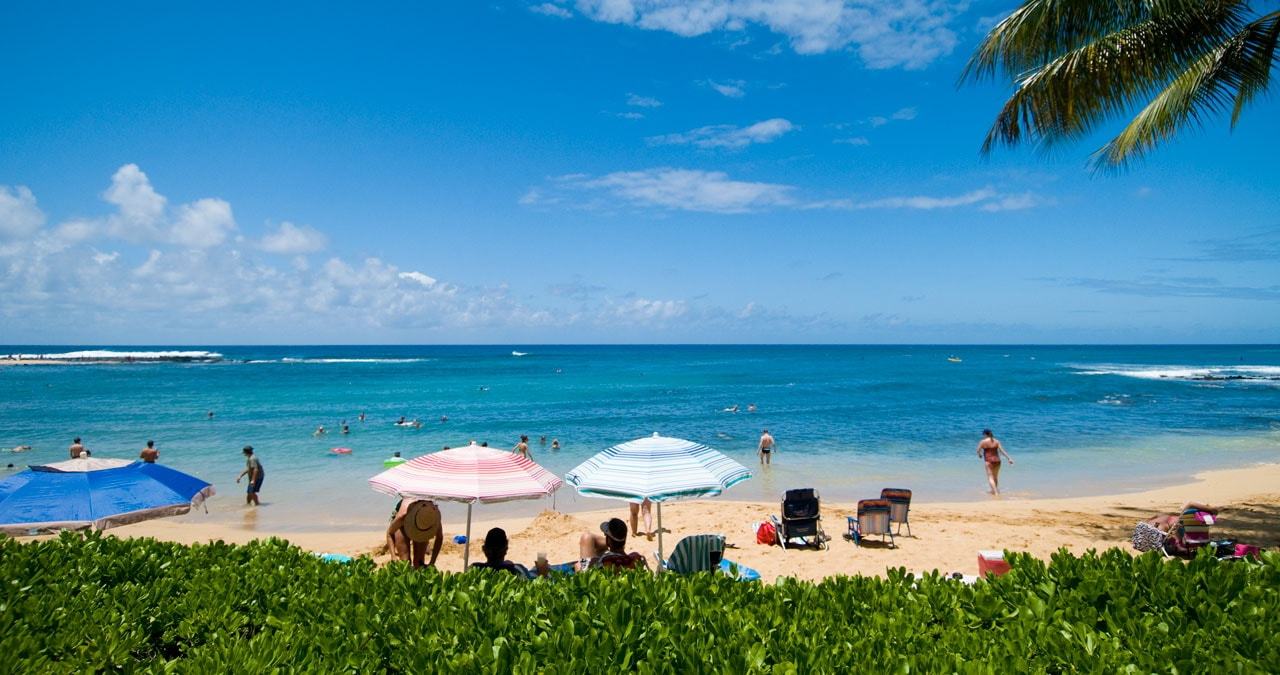 Koloa Hawaii beach