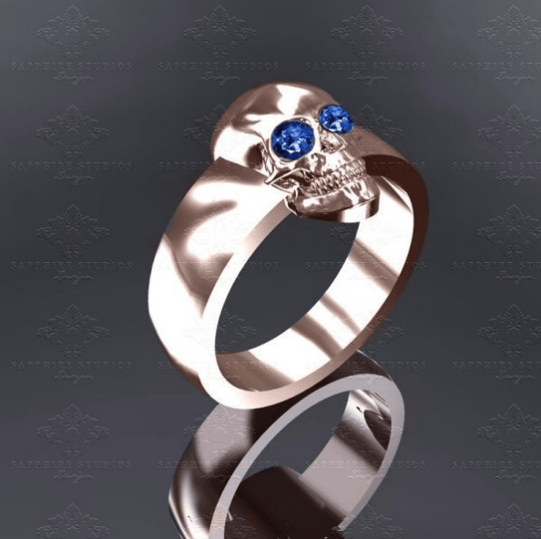 great skull ring min