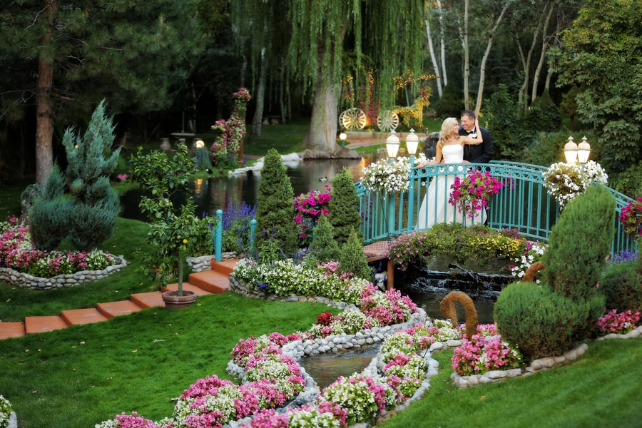 Set up a romantic dinner at La Caille