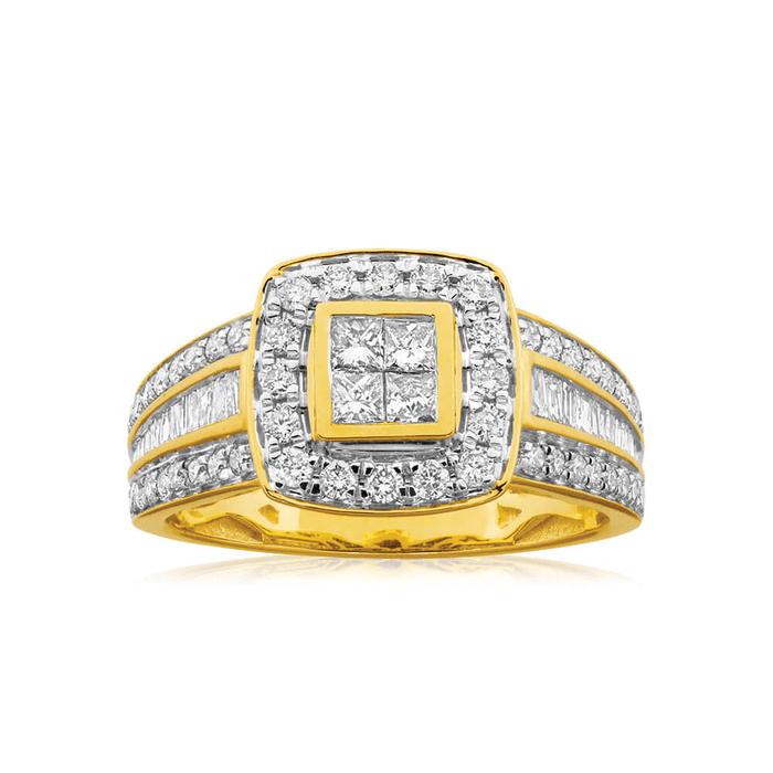 East-west Diamond Ring