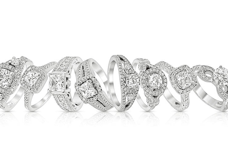 Styles of Diamond Engagement Rings-min