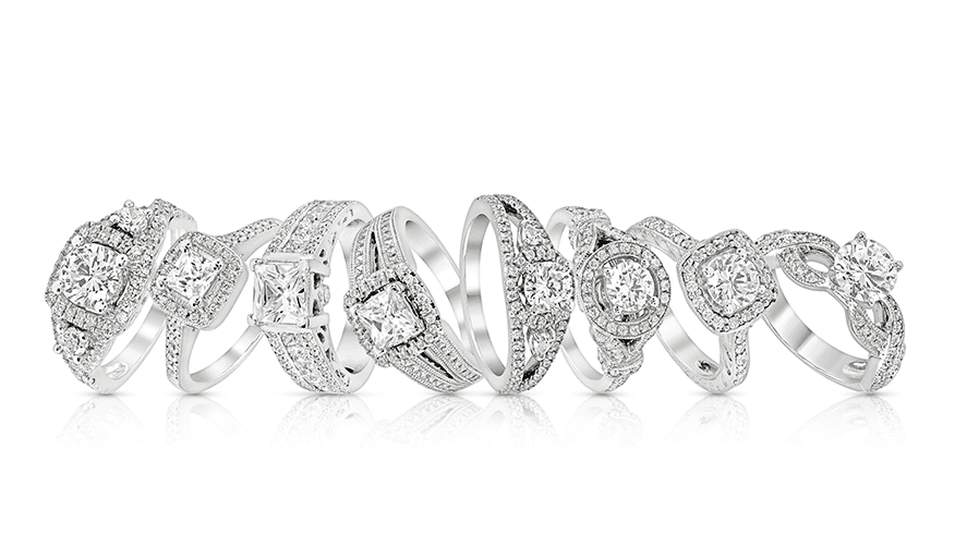 Styles of Diamond Engagement Rings-min