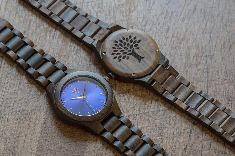 The Bendemeer Wood Watch Blue