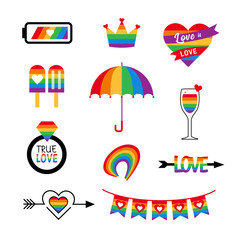 Pride Party symbols