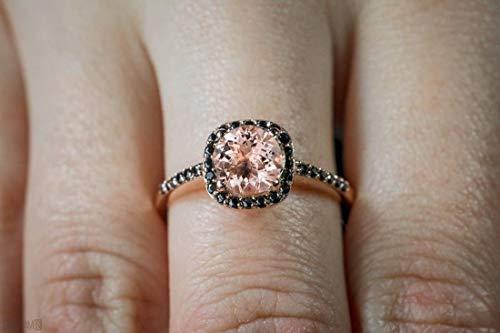 Black Diamonds Ring for Women