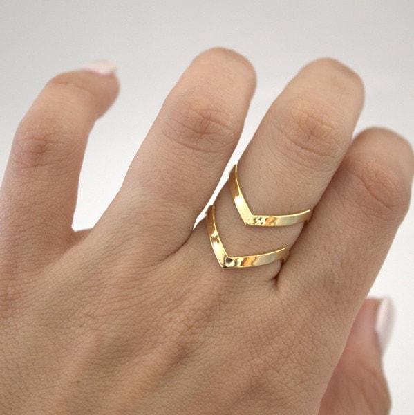 Geometric Shape Ring for Women