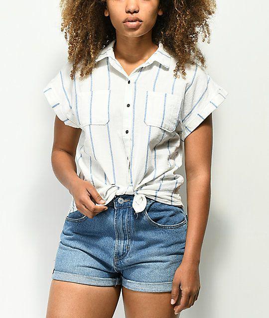 button down shirt short sleeve