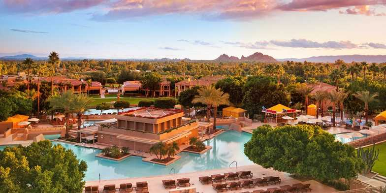 Scottsdale Arizona romantic wedding venue