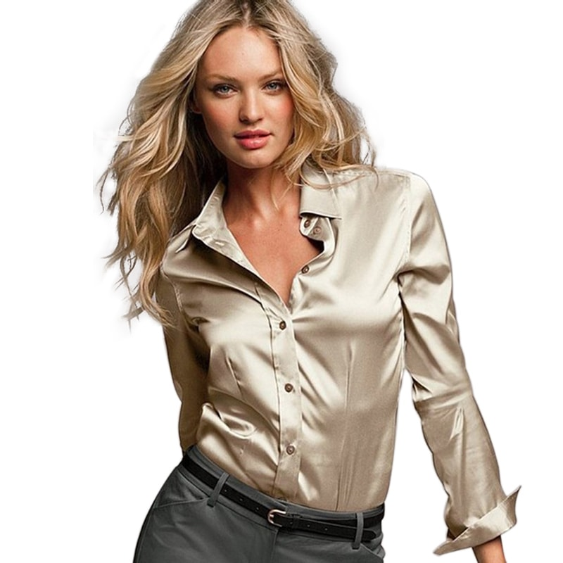 Satin and Silk blouse