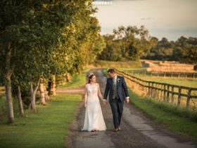 Elegant Summer Farm Wedding