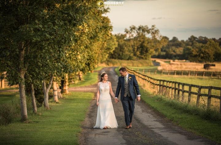 Elegant Summer Farm Wedding