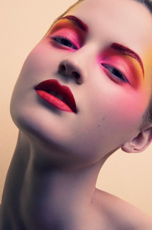 Statement Eyes and Lips